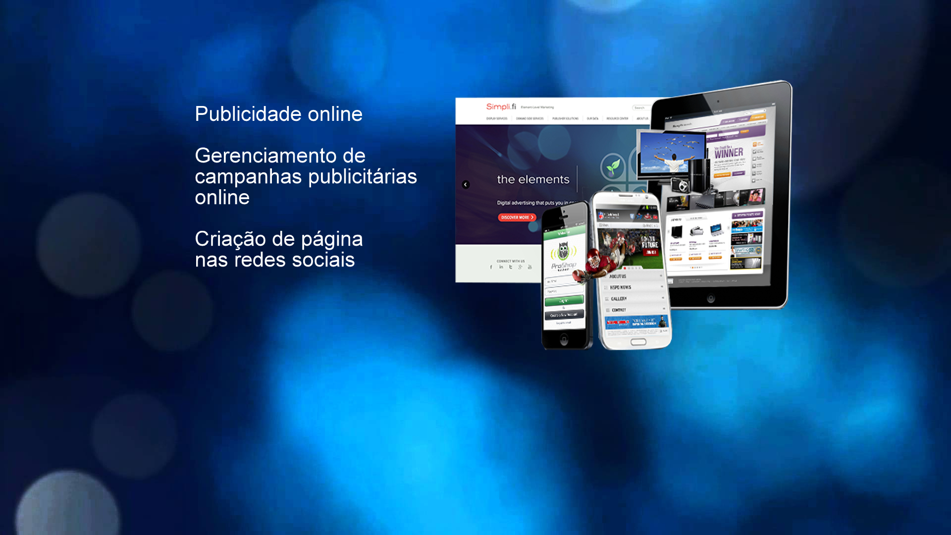 publicidade on line